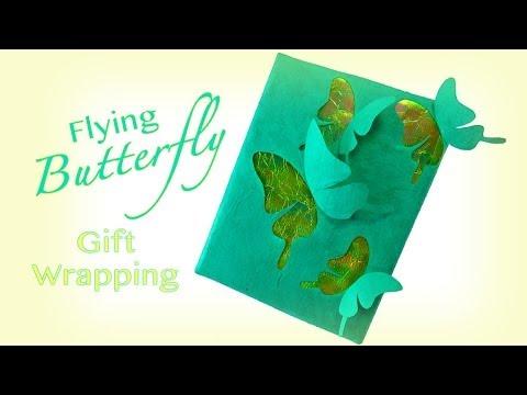 Pop Up Butterfly Gift WrappingYouTube