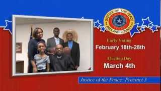 Re-Elect Judge Billy Johnson for Midland County Precinct 3 Justice of the Peace