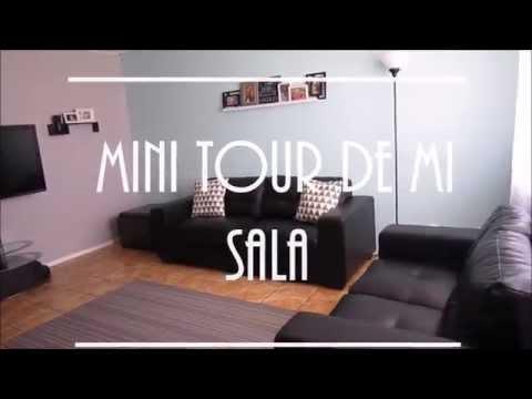 IDEAS PARA DECORAR CON POCO DINERO | MINI TOUR DE MI SALA