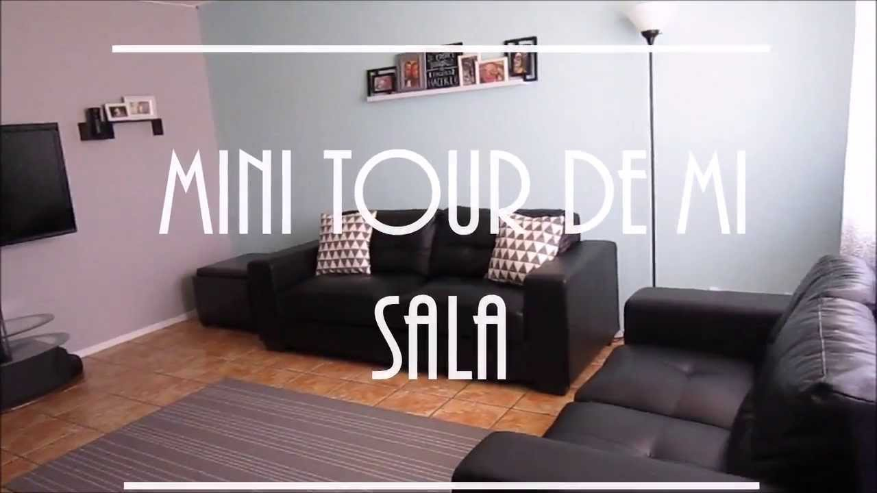 Ideas para decorar con poco dinero mini tour de mi sala for Ideas para remodelar una casa pequena