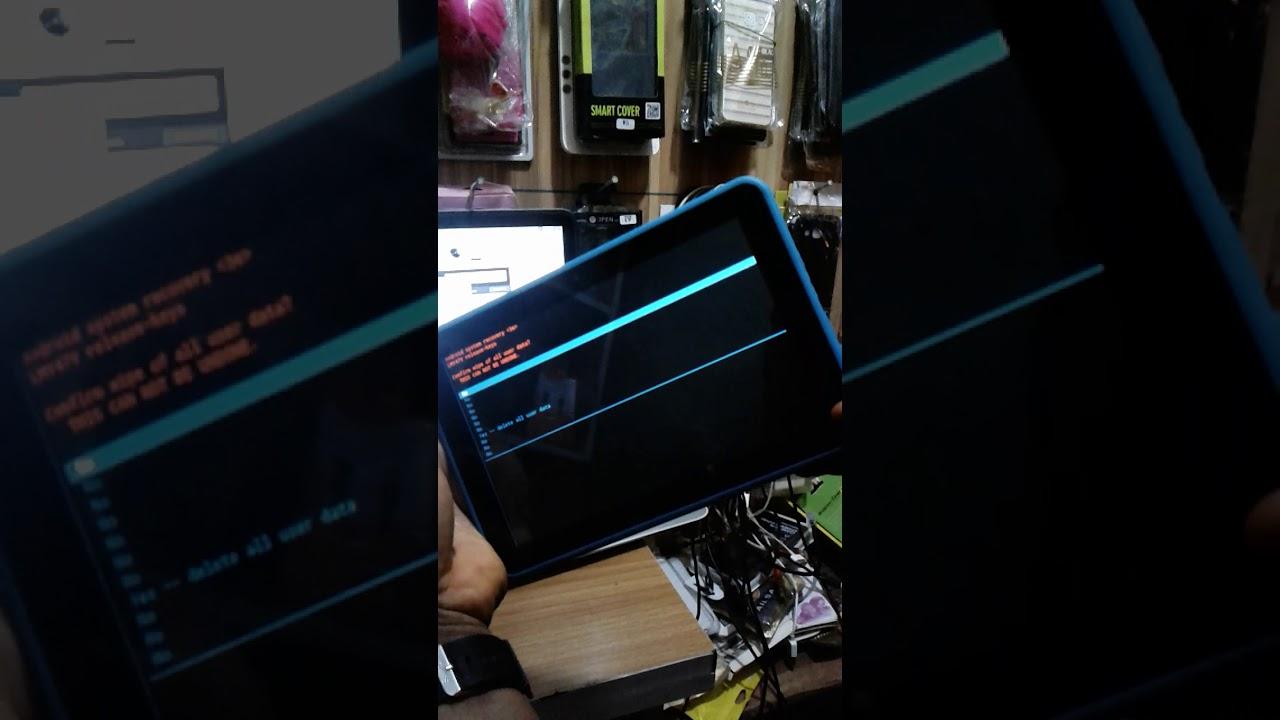 How To Hardreset Epik Learning Tablet Model ELT0801