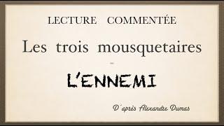 Урок французского языка. Les trois mousquetaires. L'ennemi.
