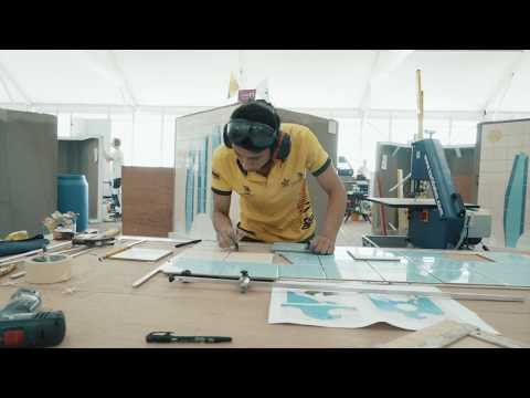 Construction and Building Technology at WorldSkills Abu Dhabi 2017