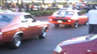 THE GAS HAWGZ friday nights at sonics atwater,ca...muscle cars pt.1
