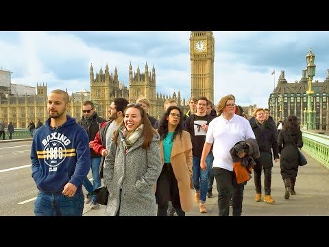 LONDON WALK | London Eye to Westminster Bridge to Big Ben | England
