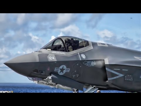 F-35C Carrier Variant Joint Strike Fighter Flight-Deck Operations