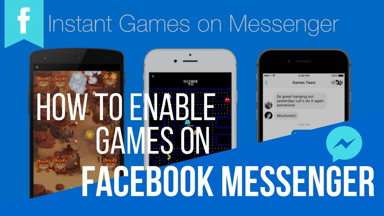 How to Enable Games Feature on Facebook Messenger | In Telugu