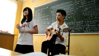 Thu cuối guitar cover - JB ft Oanh Oanhh