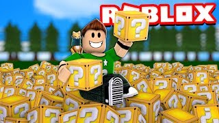 ABRIMOS +1.000.000 de LUCKY BLOCKS en ROBLOX !! | Roblox Lucky Block Simulator