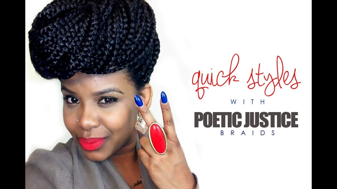 hair styles for box braids hair styles with poetic justice braids 2426