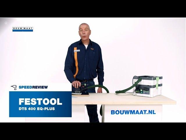 Festool DTS 400 EQ PL deltaschuurmachine Speedreview