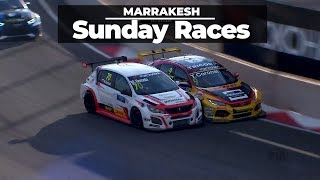 Real racing in WTCR Marrakech races 2 and 3 with Tom Coronel