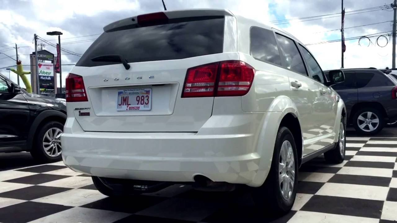 2017 Dodge Journey Cvp Push On Start Suv