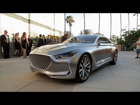 Hyundai Vision G Concept First Look