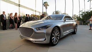 Hyundai Vision G Coupe Concept 2015 Videos