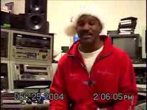 Christmas Karaoke with Evander Holyfield part 1