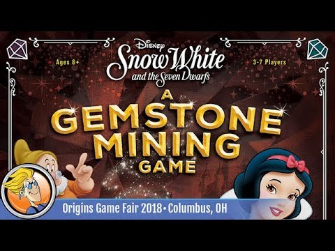 Snow White and the Seven Dwarfs — game preview at Origins 2018