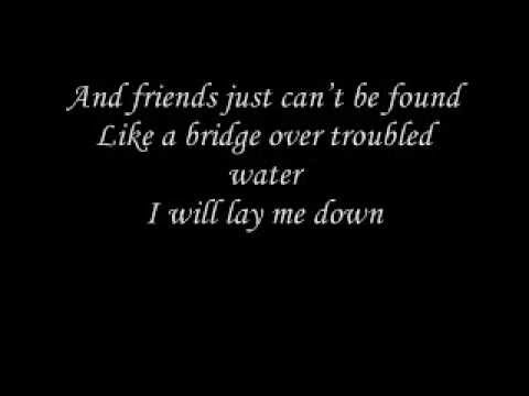 Johnny Cash - Bridge over troubled water lyrics - YouTube