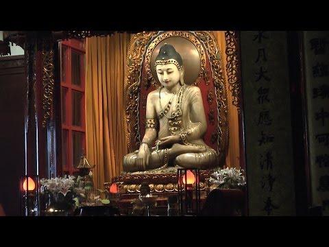 Der Jade Buddha Tempel in Shanghai