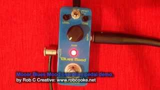 Mooer Blues Mood Demo by Rob C
