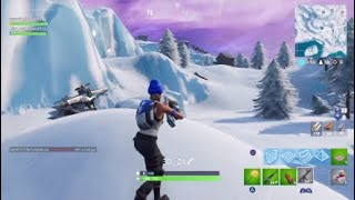 New secret snow island and cave in fortnite