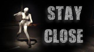 Stay Close《靠近》 Part 1 - 第一次玩雙人恐怖游戲 [白白魚x老吳]