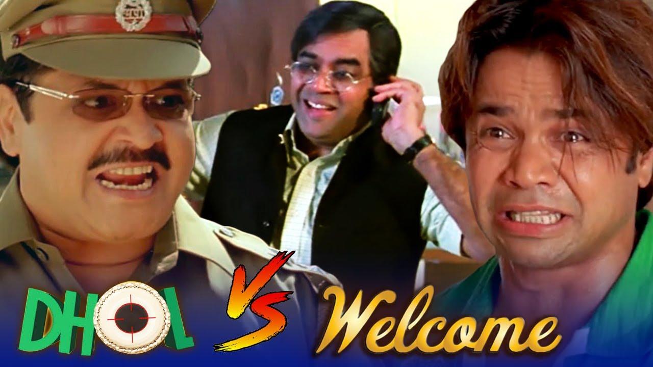 Download Dhol V/S Welcome - Best of Comedy Scenes   Rajpal Yadav - Akshay Kumar - Paresh Rawal - Nana Patekar