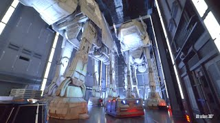 NEW! Star Wars Ride - Rise of the Resistance Track...