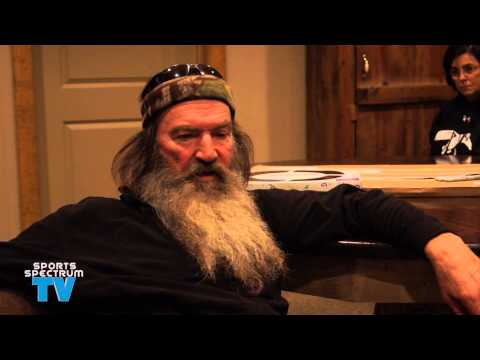 Phil Robertson talks football and Terry Bradshaw