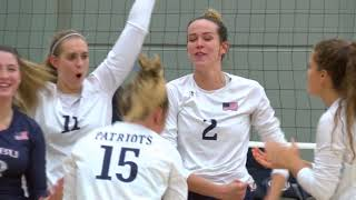 DBU Volleyball Highlights vs. UA Fort Smith (9/27/18)