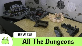 3D Miniature Dungeon Roundup - All The Dungeons