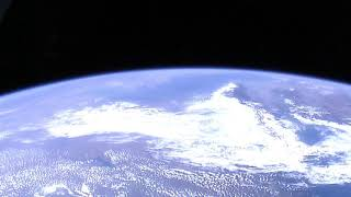 Казахстан из космоса с борта МКС Каспийское море и Аральское море лето 2017 год август