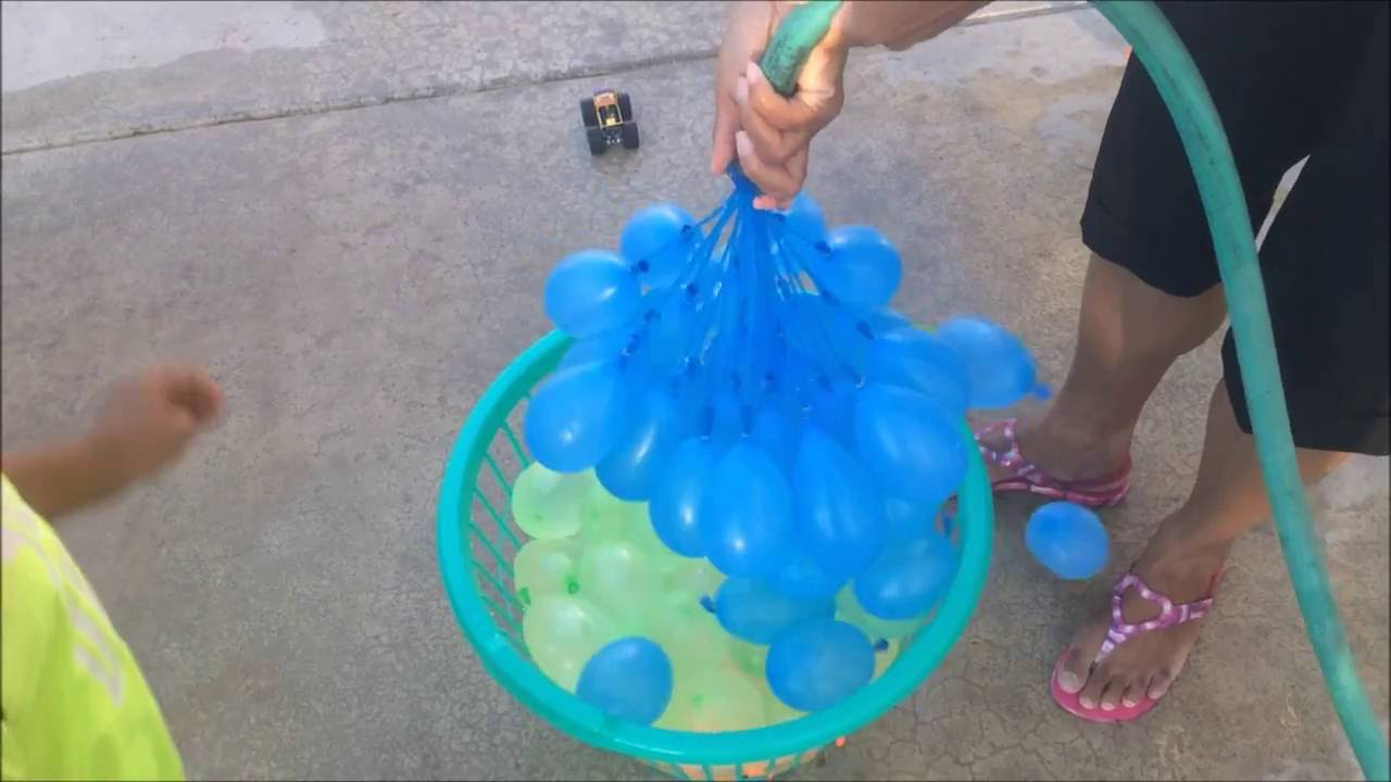 how to make water balloons