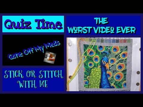 stick-or-stitch-with-me-~-quiz-time-~-gommtube-#250