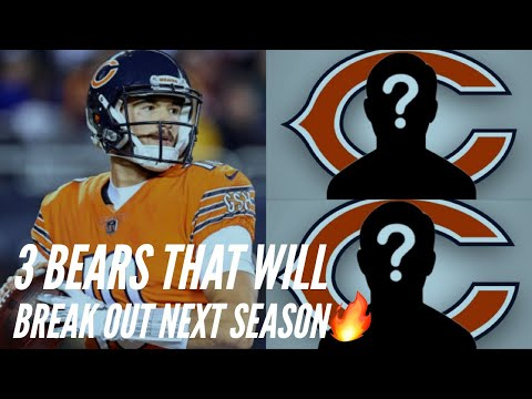 3 Chicago Bears That Will BREAK OUT Next Season 🔥 || NFL Predictions