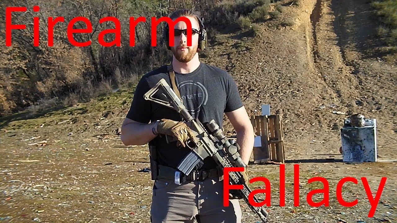 Firearm Fallacy: Walking and Shooting
