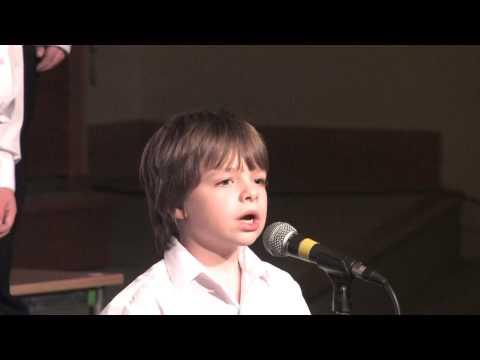 """Barnsley Youth Choir: Children's Choir sing  """"Love Shone Down"""""""
