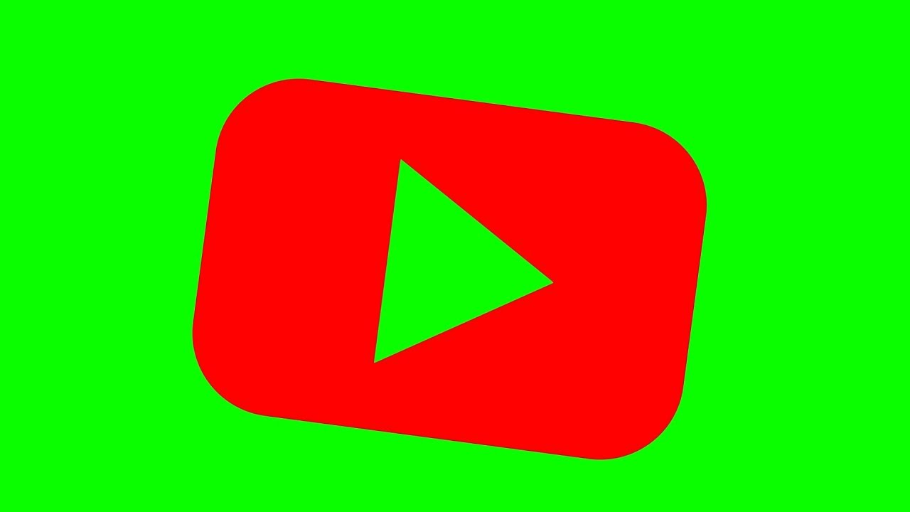 Red Youtube Icon Shake Green Screen Effects Free Youtube