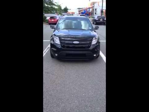 2014 Ford Explorer Sport Custom Headlights Youtube