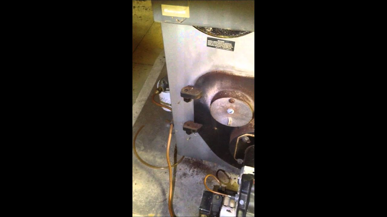Peerless Oil-Fired Boiler Servicing & Cleaning - YouTube
