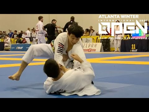 João Miyao VS Vinny Saenz / Atlanta Winter Open 2020