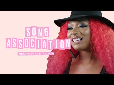 Megan Thee Stallion Sings Rihanna, Beyoncé and Khalid in a Game of Song Association | ELLE