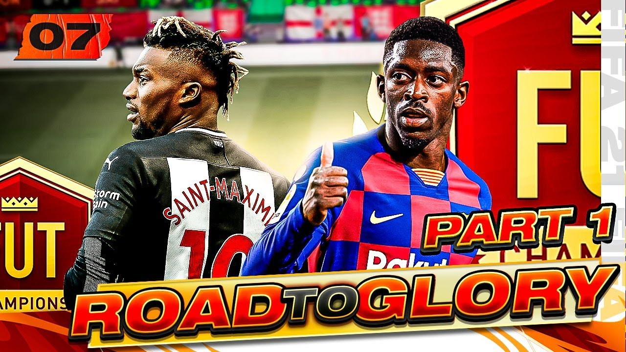 FIRST FUT CHAMPIONS GAMES ON THE ROAD TO GLORY! FIFA 21 ULTIMATE TEAM #7