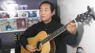 사랑은 눈물의 씨앗 (나훈아) 이창직 기타연주 Em 통기타