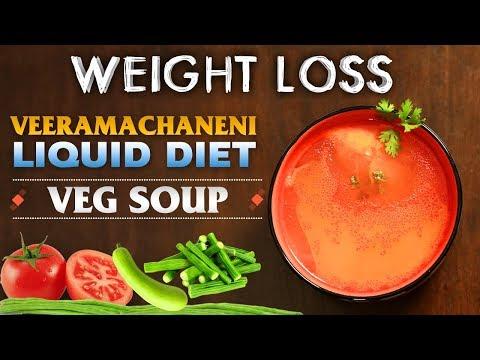 Veeramachaneni Liquid Diet Soups | Weight Loss | Veg Soup | Indian Kitchen