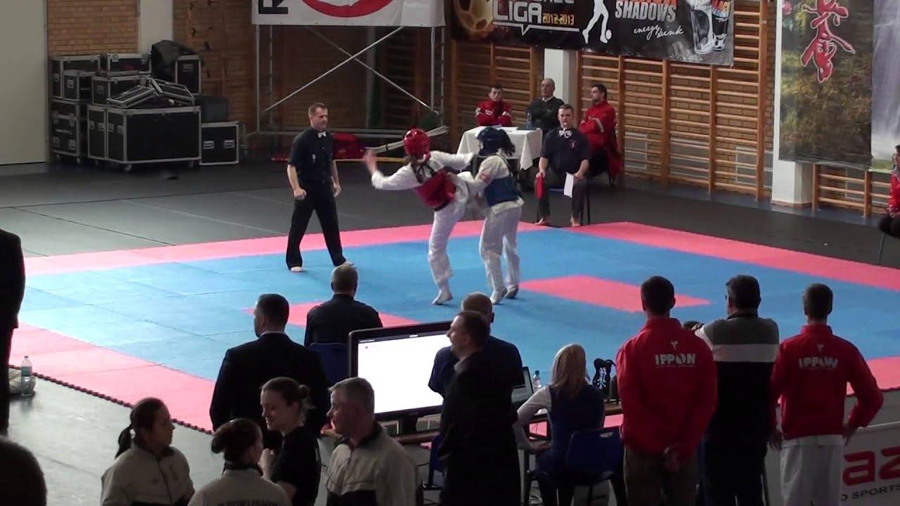 Ania Bielska kwalifikacje do mistrzostw europy - eŁk 23.02.13 anna