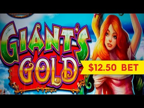 Giant's Gold Slot - $12.50 Max Bet - NICE SESSION!