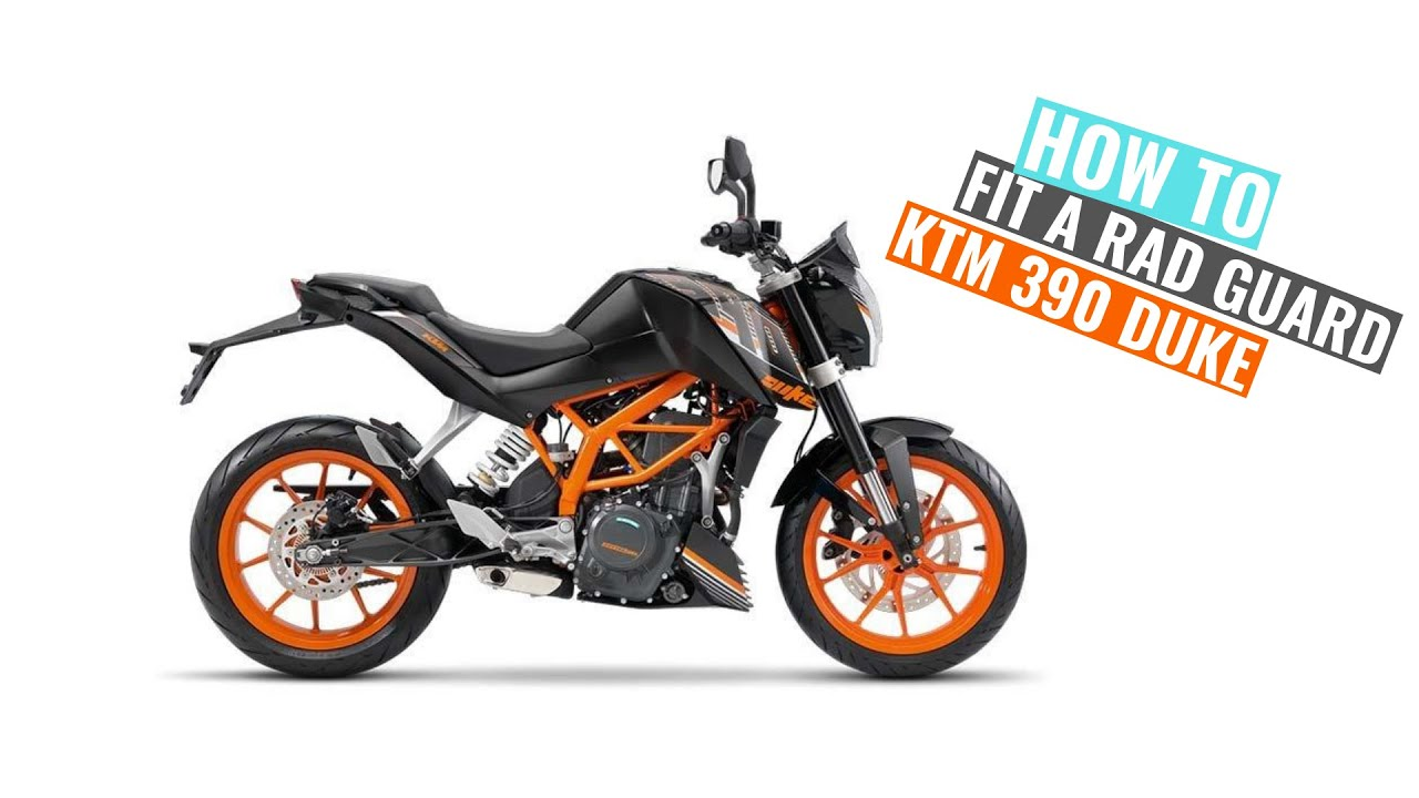 Ktm 390 Duke 2013 2016 Rad Guard Fitting Instructions