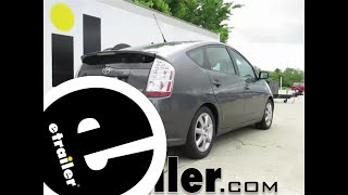 Installation of a Trailer Hitch on a 2008 Toyota Prius - etrailer.com