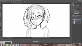 how to draw - nico nii [part1]